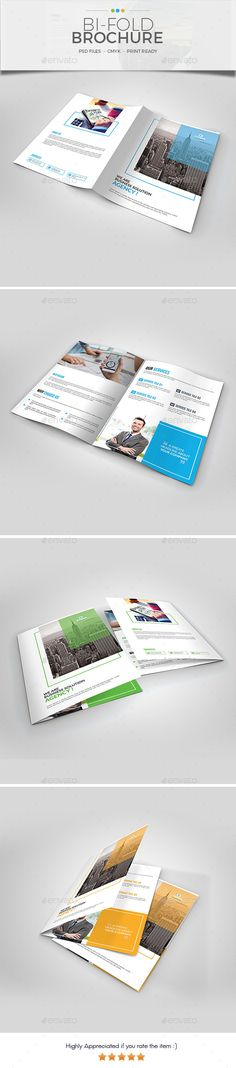 Double Gate Fold Pinterest Brochures Corporate Brochure And