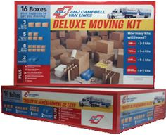 Save 40% on our Deluxe Moving Kit  We have included everything you need in one convenient kit at a convenient price.