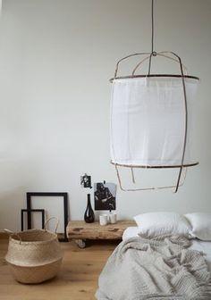 Z1 Black Cotton Lamp Mit Baumwollbezug Weiß Von Ay Illuminate /  Heimelig Shop