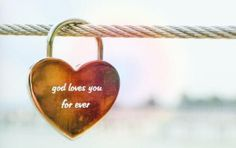 """Need encouragement? GOD LOVES YOU FOREVER!  Jer 31:3 """"I have loved you with an everlasting love""""  #jesus"""