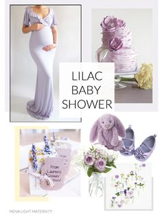 Purple and yellow baby shower! I love the soft pastel colors - So soft and romantic! #maternitydress #lilacbabyshower #purplebabyshower #babyshowerinspo #purpleandyellowbabyshower