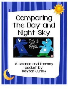 Comparing Day and Night Sky:  Ooh, this is FREE and connects science to a Pixar short available on YouTube.  Love!