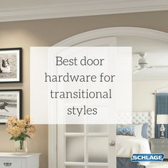 By elevating nearly any look, these styles show that flexibility isn't just functional; it's beautiful. Here are the perfect door hardware pairings you should consider for your transitional home. Transitional Doors, Transitional Style, Design Movements, Home Hardware, Abcs, New Builds, Flexibility, Interior Decorating, Homes