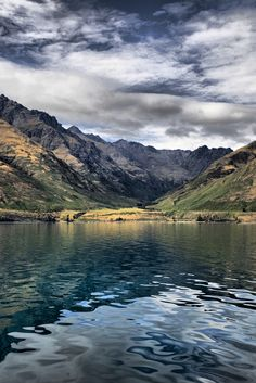 "kievc: "" Lake Near Queenstown NZ (by allanhowell1) """