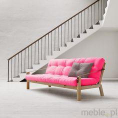 POETRY - futon z drewnianym, rozkładanym stelażem, Karup - Meble