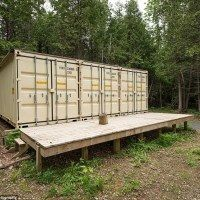 These Old Shipping Containers Are Home To This Guy And It's Fantastic