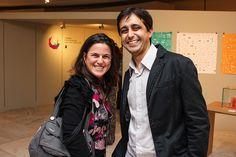 Joana Figueiredo e Crystian Cruz - Vernissage 10ª Bienal ADG