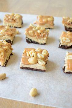 Brownie snicker bars