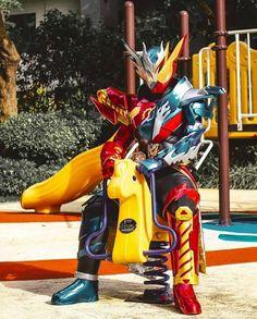 Giddy up pony! Kamen Rider Zi O, Kamen Rider Series, Robot Cartoon, Sci Fi Characters, Rwby, Power Rangers, Funny Pictures, Fan Art, Memes
