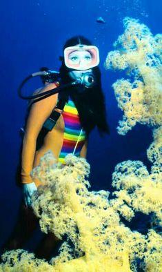 Were not Scuba diving sexy women seems magnificent