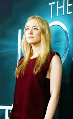"joshutchersonn:                                   Saoirse Ronan at the world premiere of ""The Host"""