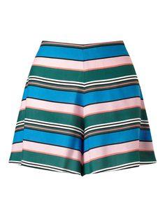 PETITE Stripe Flippy Skort