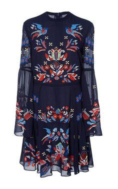 Tanya Taylor Printed Dress