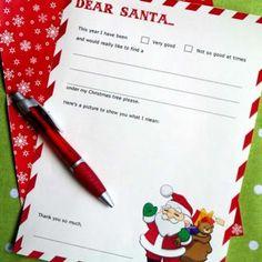 Printable Letter toSanta