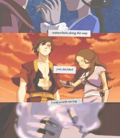 just friends I prefer Aang for Katara Avatar Zuko, Avatar Airbender, Zuko And Katara, Team Avatar, Legend Of Aang, Ying Y Yang, Foto Gif, The Last Avatar, Avatar Series