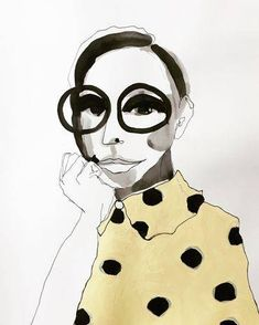 naive malerier - www.evakock.dk Sketch Art, Doodle Art, Design Art, Watercolor, Wall Art, Abstract, Faces, Creative, Artist