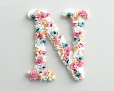 Items similar to Flower letter turquoise baby girl nursery decor floral letter. Monogram letter personalised gift, wall art, wall hanging initial on Etsy Flower Letters, Monogram Letters, Nursery Monogram, Flower Wall, Baby Girl Nursery Decor, Baby Room Decor, Nursery Room, Stylish Alphabets, Alphabet Images