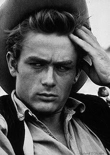 James Dean in the film Giant