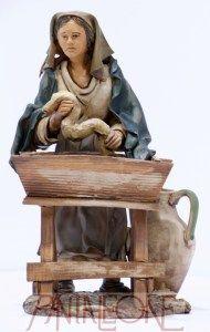Pastorella Panetiere in terracotta - 20034PG