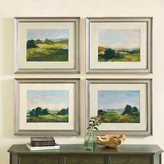 Early Light Landscape Art series 1 -4 dim 23.5x27.5 $199