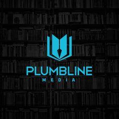 Plumbline Media Identity - #logo #design