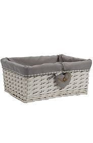 BUTTON HEART UTILITY Laundry Basket, Wicker, Button, Heart, Furniture, Shopping, Home Decor, Decoration Home, Room Decor