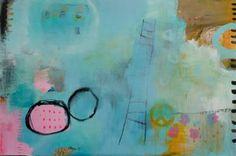 """Saatchi Art Artist Christiane Lohrig; Painting, """"Mama und die Hippiehosen"""" #art"""