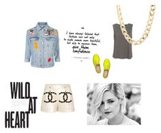 """Wild At Heart"" by billie-ann-richardson on Polyvore featuring mode, Topshop, Christian Louboutin, Diane Von Furstenberg, Charlotte Russe, Chanel, topshop et kristenstewart"