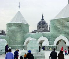 If you're visiting in the winter, make sure to check out the ice palace at the St. Paul Winter Carnival.