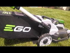 Ego Power+ Battery Powered Lawn Mower Review - YouTube