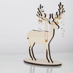 large deer jewellery stand