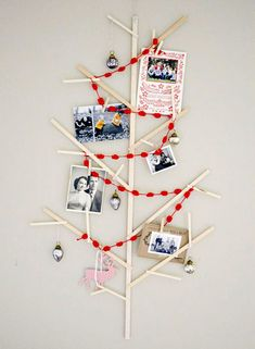 Árvore de Natal de fotos