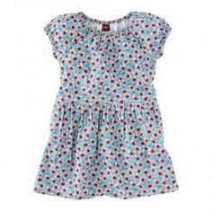Blumenmeer Corduroy Little Girls Dress | Tea Collection
