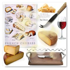 """""""Say Cheese"""" by drenise ❤ liked on Polyvore featuring interior, interiors, interior design, home, home decor, interior decorating, L'Objet, LIST, Michael Aram and food"""