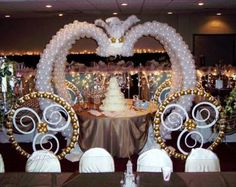 Carriage for a Cinderella theme by Wynn & Lindy Bell