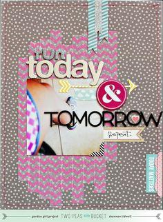 Run Today & Tomorrow - Two Peas in a Bucket