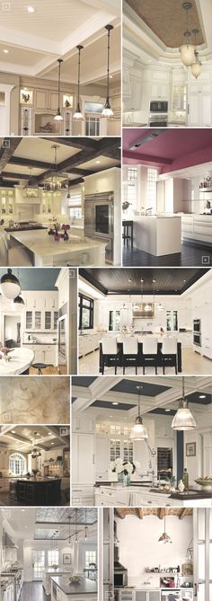 Inspiration and Ideas for Decorating Kitchen Ceilings | Home Tree Atlas