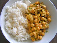 Les gourmandises de Lydie: Curry de pois-chiches