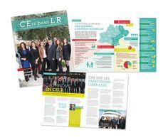 CELR - Réalisation du magazine de la Caisse d'Épargne Languedoc-Roussillon