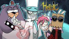 Dr. Quitter Cartoon Network, Myths & Monsters, Hat Organization, Bullet Journal Banner, Villainous Cartoon, Draw The Squad, Fanart, Art Series, Crazy Funny Memes