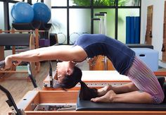 #Reformer #Pilates #Back-bend