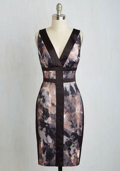 Philanthropic Art Auction Dress   Mod Retro Vintage Dresses   ModCloth.com