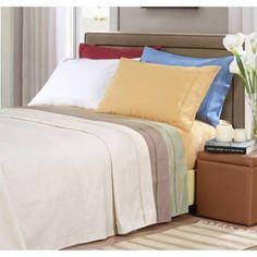 1000 Thread Count Premium Cotton Bed Sheet Set, Single Ply, Stripe, Gold