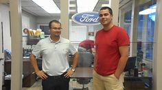 Adam Clark talking about his purchase at Statewide Ford Lincoln