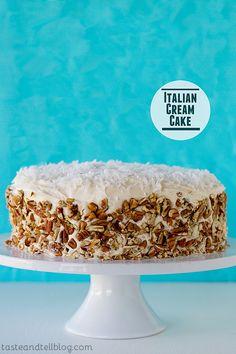 Italian Cream Cake - from @Dana Armstrong Hee Harroun {Taste and Tell}