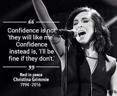 RIP Christina Grimmie. This is heartbreaking. Christina was 22. She was signing autographs and talking to fans after a concert when she was shot multiple times. I'm going to remember her forever.  RIP Christina. My thoughts are with her family.