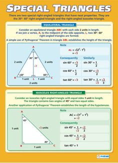 Set of 10 Maths A-level | Maths Numeracy Educational School Posters