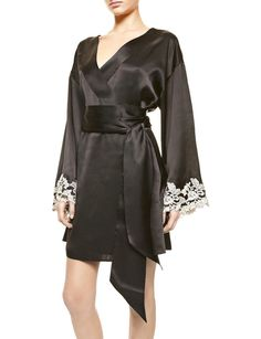 Maison Vestaglia Corta Short Robe | David Jones