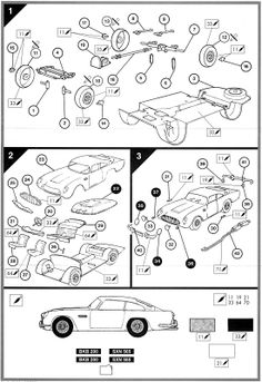 Classic assembly instructions for Airfix, Meccano and other kits