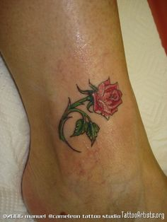 pink rose tattoos | lil pink rose - Tattoo Artists.org